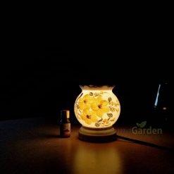 Đèn xông tinh dầu aroma s5 gốm sứ bát tràng