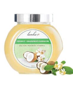 dầu dừa hoa bưởi vitamin E
