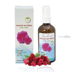 tinh dầu xịt phòng hoa hồng