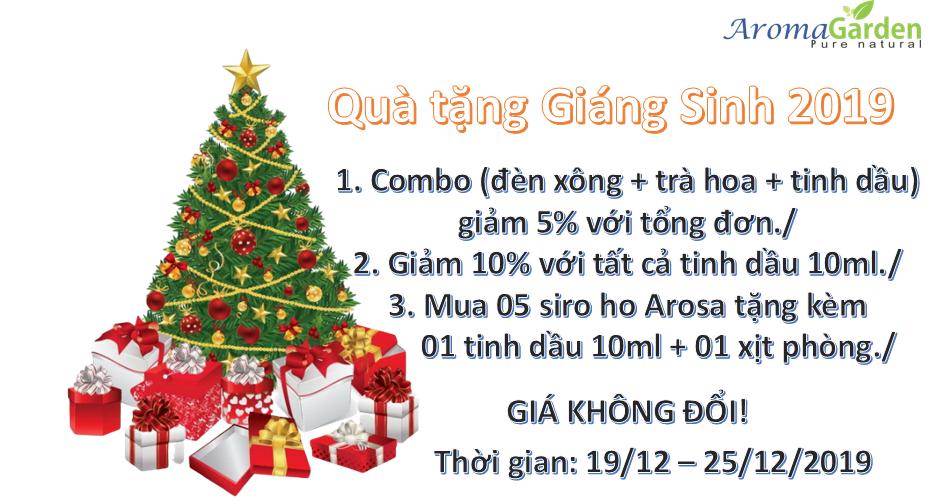 Chương trình quà tặng giáng sinh 2019