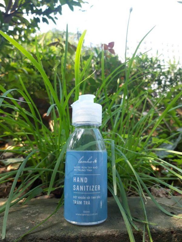 Diễn giải về thành phần nước rửa tay khô trung tính tràm trà Lam Hà